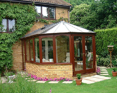 Conservatory Erection